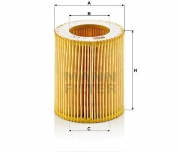 Воздушный фильтр Mann С630 - фото 1