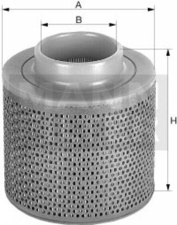 Воздушный фильтр Mann C17100 - фото 1