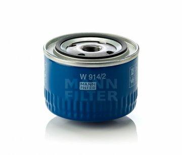Масляный фильтр MANN W 914/2 - фото 1