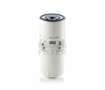 Масляный фильтр MANN W 11 102/36 - фото 1