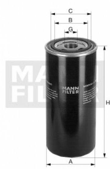 Масляный фильтр MANN WD 962/14 - фото 1