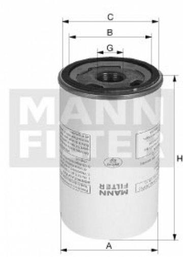 Сепаратор MANN LB 13 145/8 - фото 1