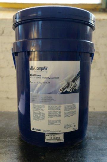 Масло CompAir FluidFoce 4000 (20л) SCWOBG2-20 - фото 1