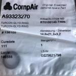 Уплотнительное кольцо CompAir A93323270 - фото 1
