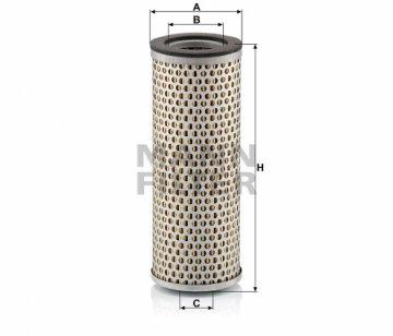 Воздушный фильтр Mann С718 - фото 1